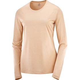 Salomon Agile LS skjorte Damer, orange